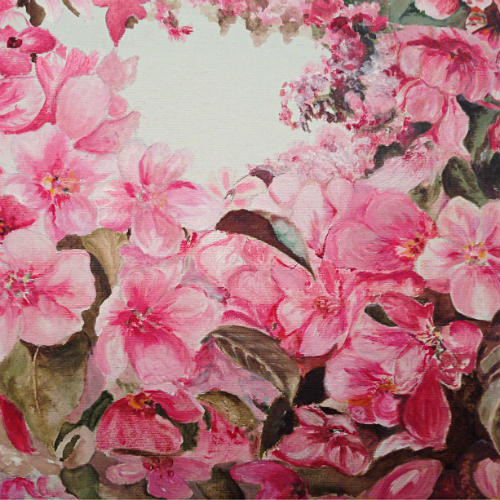 Flower painting 1