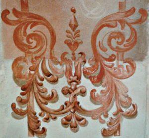 Fresco decoration