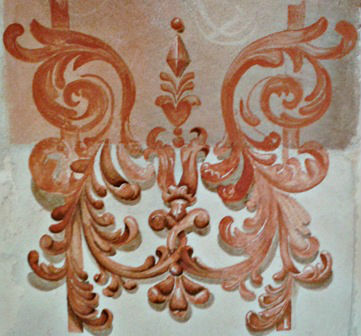 Fresco decoration