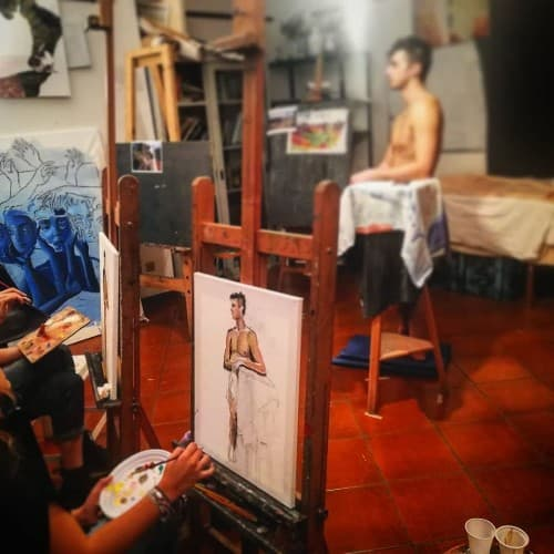 life drawing and painting class