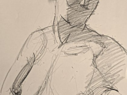 Life-drawing and painting workshop