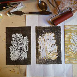 Linoleum art 2