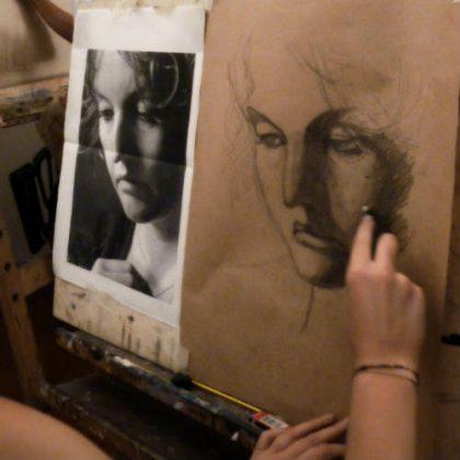 Seminario de pintura desde fotografías