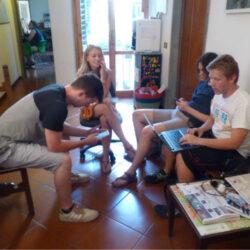 Students at AdG