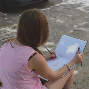 Sketchbook lesson