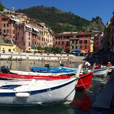 Cinque Terre: boats