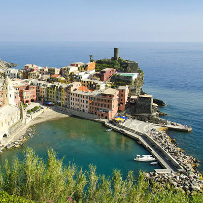 Art classes at Cinque Terre