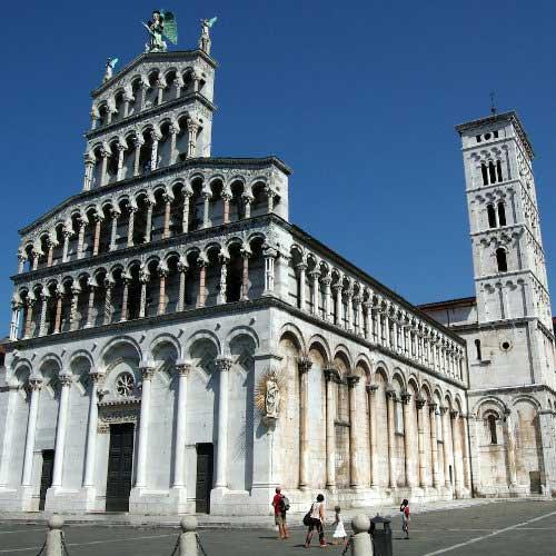 Lucca: San Michele