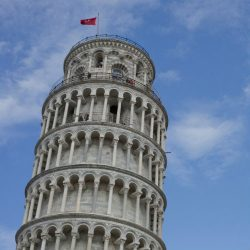 Pisa the leaning tower