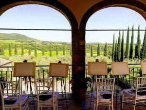 Painting Tuscany