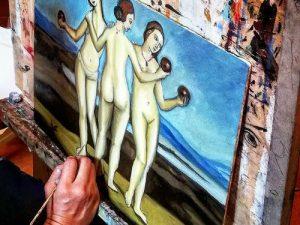 Workshop di pittura a olio