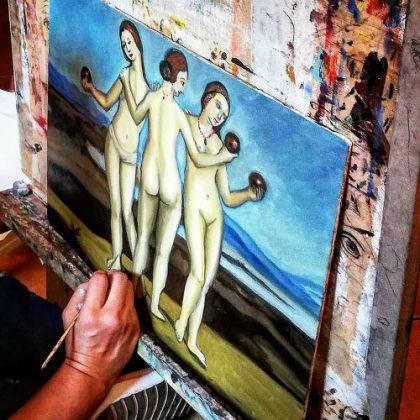 Séminaire de peinture à l'huile