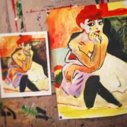 pittura acrilica