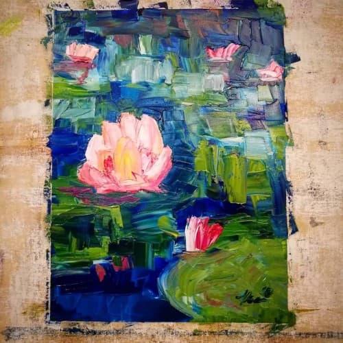 acrylic impressionist