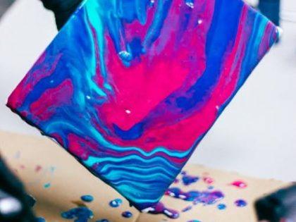 Stage de peinture fluide et goutte à goutte