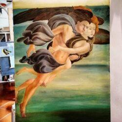 Botticelli Zefir